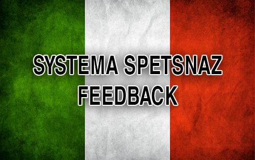 Systema Spetsnaz Feedback - Russian Systema - Italy