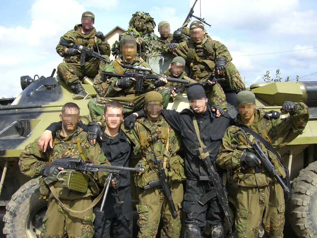 The GRU - Russian Spetsnaz GRU