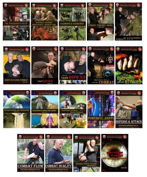 SYSTEMA SPETSNAZ DVD PACKAGES - SAVE UP TO 35% OFF