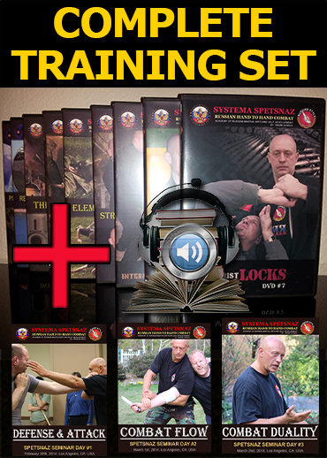Russian Spetsnaz Training DVDs