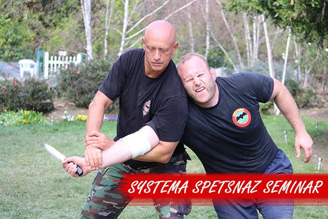 Systema Spetsnaz-Reality-Based Self-Defense Seminar