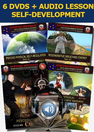 Systema Spetsnaz Russian Martial Art Self-Development DVDs
